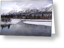 Canmore Winter Greeting Card