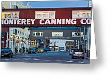 Cannery Row Area At Dawn, Monterey Greeting Card