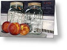 Canning Time Greeting Card