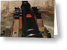 Cannon At Pendennis Castle Greeting Card