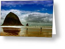 Cannon Beach At Dusk II Greeting Card