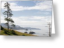 Cannon Beach At Ecola State Park Greeting Card