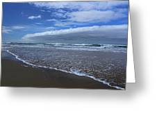 Cannon Beach Surf And Storm Greeting Card