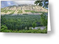 Cannon Cliff - Franconia Notch State Park New Hampshire Usa  Greeting Card
