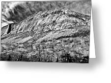Cannon Cliffs Wind Greeting Card