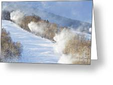 Cannon Mountain Ski Area - Franconia Notch State Park New Hampshire Greeting Card