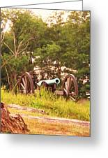Cannon On Culps Hill Greeting Card