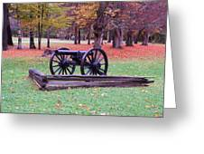 Cannon On The Parade Grounds Greeting Card