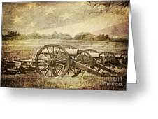 Cannons At Pea Ridge Greeting Card