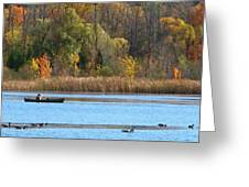 Canoer Greeting Card