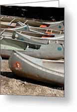Canoes 143 Greeting Card
