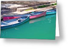 Canoes 3 Greeting Card