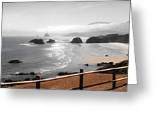 Canon Beach Greeting Card