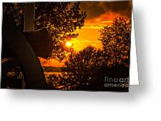 Canon Sunset Greeting Card