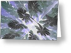 Daytime Jungle Sky By Jammer Greeting Card