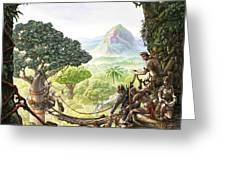 Canopy Walk Cover Art Greeting Card