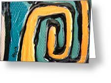 Canvas Snapshot 2 Greeting Card