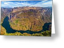 Canyon Bend Greeting Card
