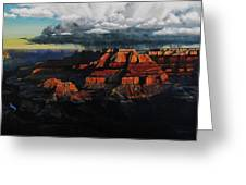 Canyon Colors Greeting Card