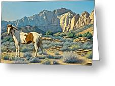 Canyon Country Paints Greeting Card by Paul Krapf