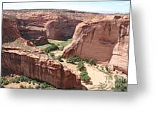 Canyon De Chelly Arizona Greeting Card