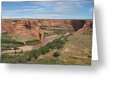 Canyon De Chelly Overview Greeting Card