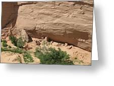 Canyon De Chelly Ruins Greeting Card