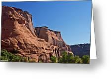 Canyon Dechelly Navajo Nation Greeting Card