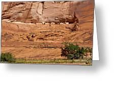 Canyon Dechelly Whitehouse Ruins Greeting Card