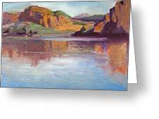 Canyon Lake Of Arizona Greeting Card