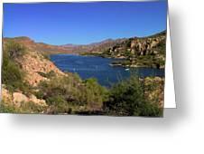 Canyon Lake Greeting Card