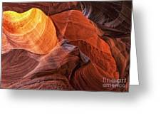 Canyon Light Greeting Card