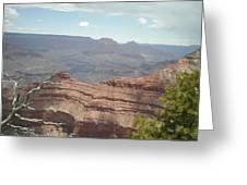 Canyon Rock Greeting Card