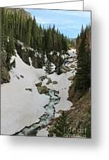 Canyon Scenery Greeting Card