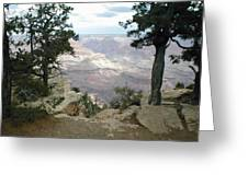 Canyon Side View Greeting Card