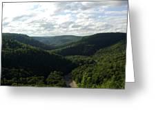 Canyon Vista Greeting Card