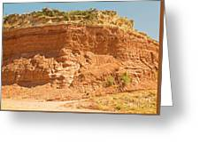 Canyonlands In West Texas Greeting Card