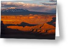 Canyonlands Light Greeting Card by Joseph Rossbach