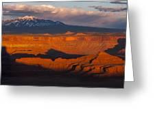 Canyonlands Light Greeting Card