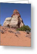Canyonlands Monolith Greeting Card