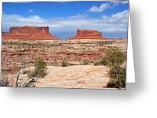 Canyonlands Utah Landscape Greeting Card