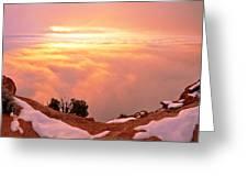 Canyonlands Winter Greeting Card