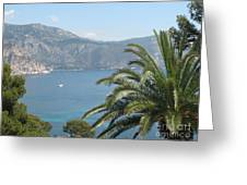 Cap Ferrat Greeting Card