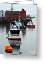 Cape Ann Red Fishing Shack Greeting Card