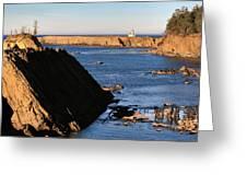Cape Arago Lighthouse 2 Greeting Card