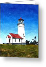 Cape Blanco Lighthouse Greeting Card
