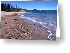 Cape Breton Island Aspy Bay Greeting Card