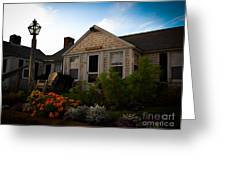 Cape Cod Bungalow Greeting Card