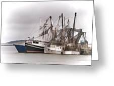 Cape Cod Fishing Boats Greeting Card