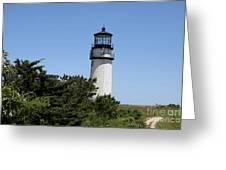 Cape Cod Light - Highland Light Greeting Card